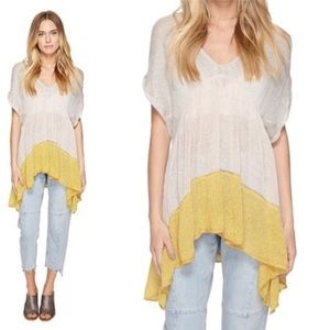 Free People Storm Clouds Knit Ombré Tunic